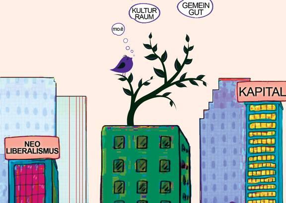 Soli-Tag im mo.ë: Kulturraum als Gemeingut