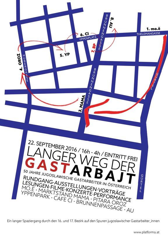 wienwoche 2016: Langer Weg der Gastarbajt - Der letzte Arbajter!