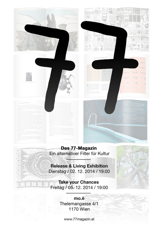Moe Contemporary: 77-Magazin. The Living Exhibition