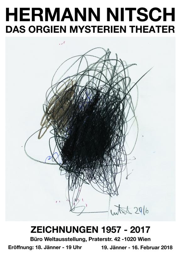 Hermann Nitsch - Zeichnungen 1957–2017