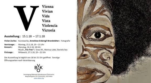 V Vienna Vivian Vida Vista Violencia Victoria