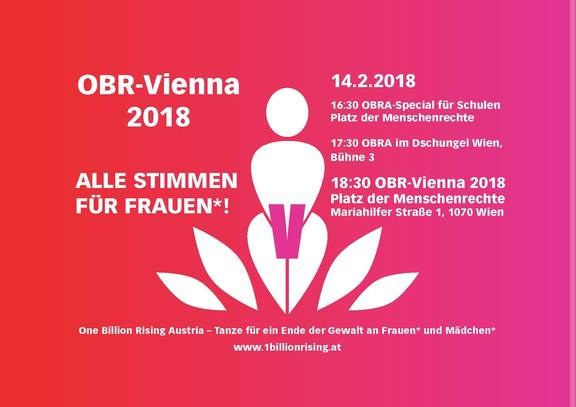 One Billion Rising Vienna 2018