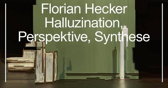 Vienna Art Week: Florian Hecker. Halluzination, Perspektive, Synthese