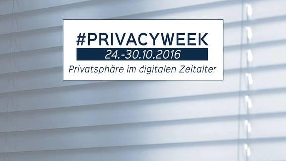 PrivacyWeek - Privatsphäre im digitalen Zeitalter