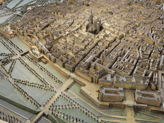 Wien von oben. Die Stadt auf einen Blick