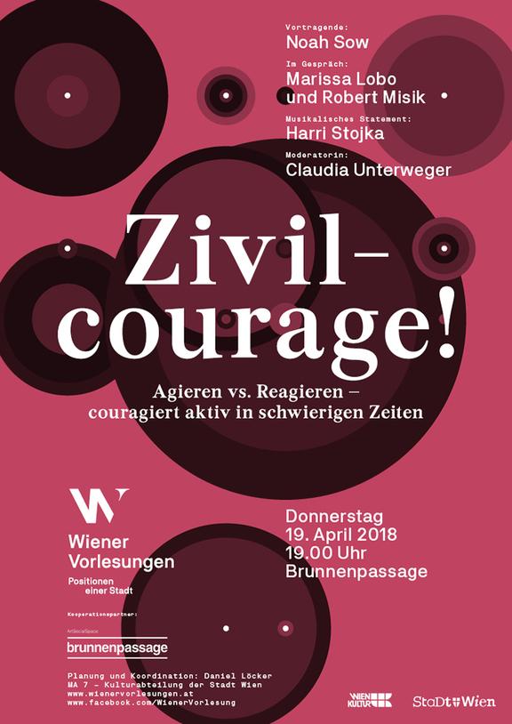 Wiener Vorlesung - Zivilcourage!
