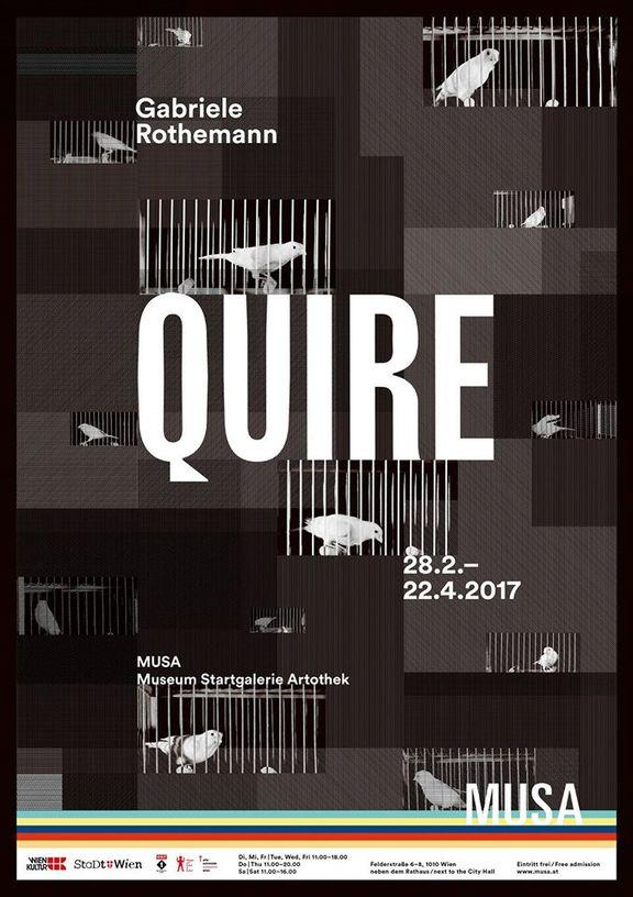 Gabriele Rothemann: Quire. Vierundzwanzig Vogelkäfige