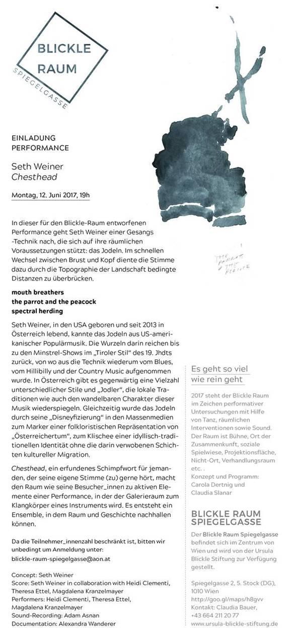 Seth Weiner: Chesthead