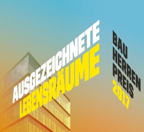 Ausgezeichnete Lebensräume - Bauherrenpreis 2017