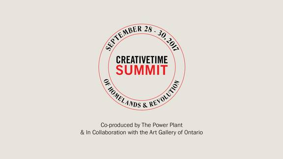Creative Time Summit: Of Homelands and Revolution