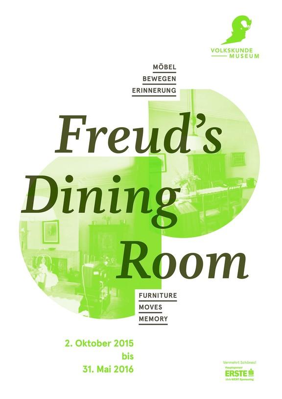Freud's Dining Room. Möbel bewegen Erinnerung