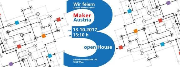 3 Jahre MakerAustria - Open House