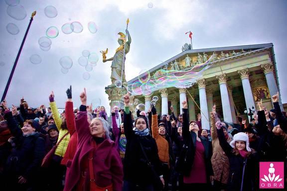 One Billion Rising Vienna / Aiko Kazuko Kurosaki