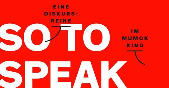 So to speak: Fear forward
