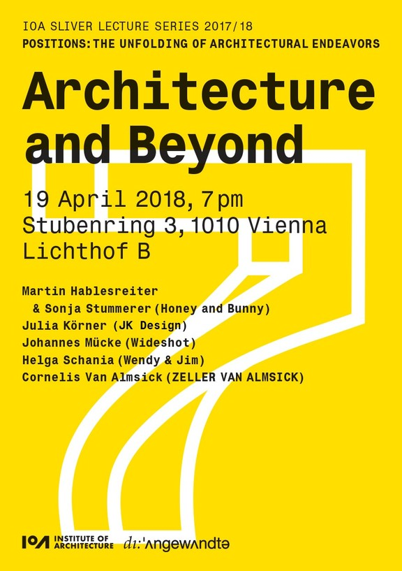 IoA Sliver Lecture Panel: Architecture and Beyond