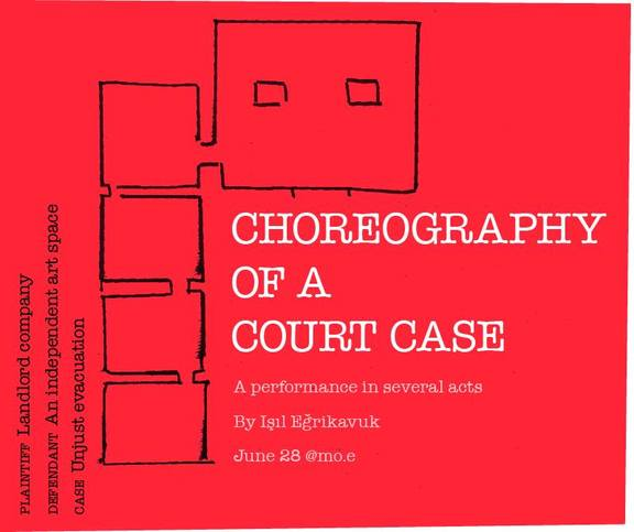 Choreography of a Court Case