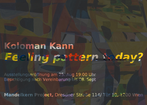 Koloman Kann - feeling pattern today?