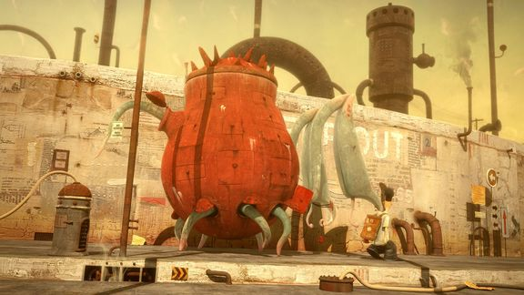 Filmstill: THE LOST THING | Shaun Tan, AU/UK 2010