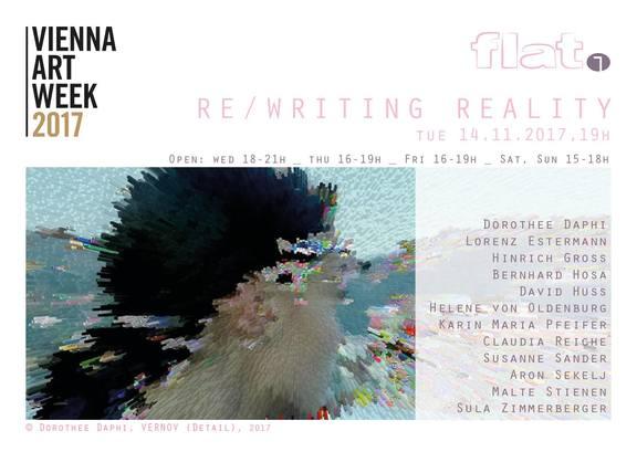 Vienna Art Week: Re/Writing Reality