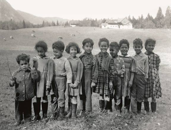 SchwarzÖsterreich. Die Kinder afroamerikanischer Besatzungssoldaten