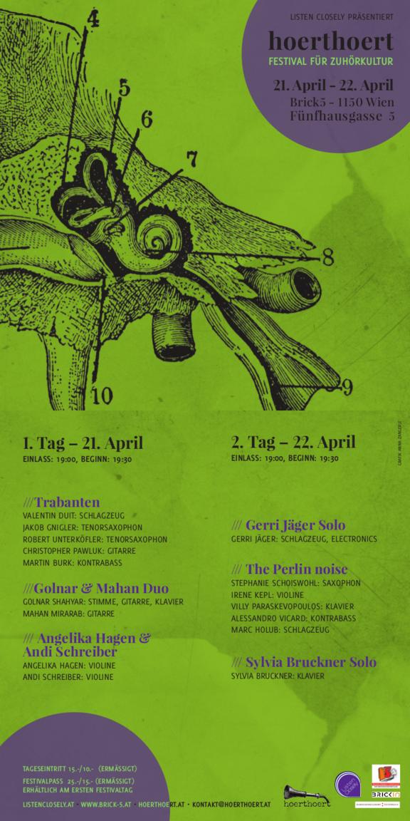hoerthoert - Festival für Zuhörkultur 2017 Tag 2