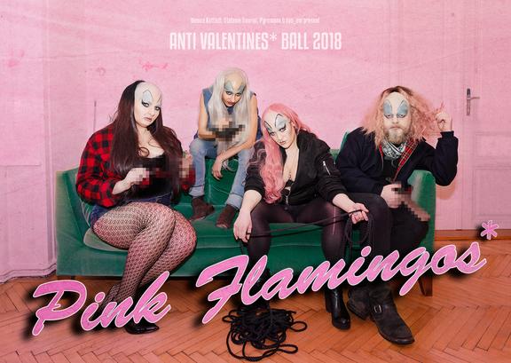 Anti Valentines* Ball 2018: Pink Flamingos_*