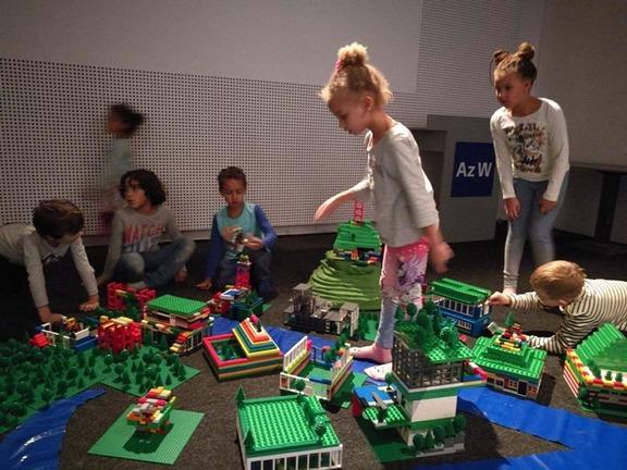 Legostädtchen Bild: Architekturzentrum Wien