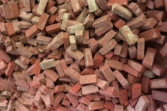Wir produzieren Bausteine
