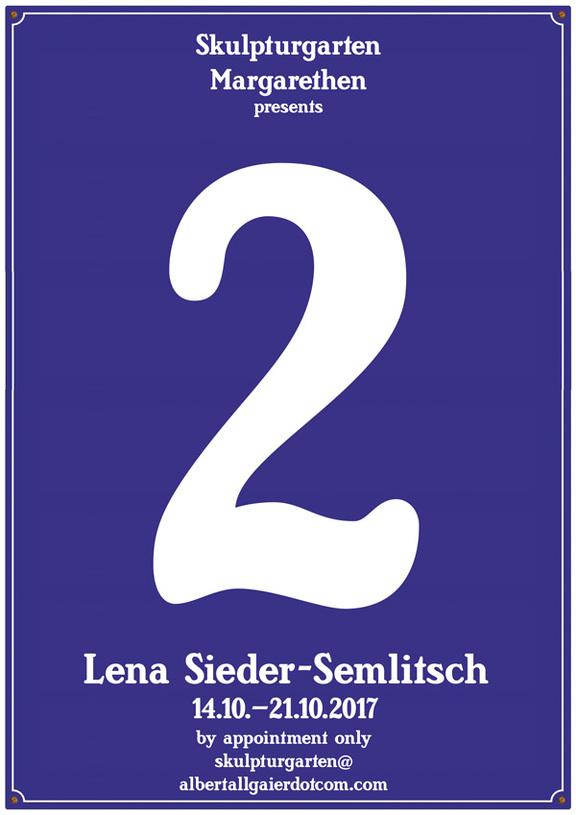 5., Skulpturgarten: Lena Sieder-Semlitsch