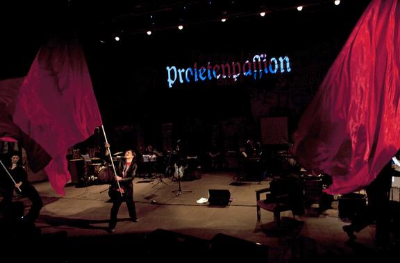 """Proletenpassion 2015 FF. von Heinz R. Unger und den """"Schmetterlingen"""""""