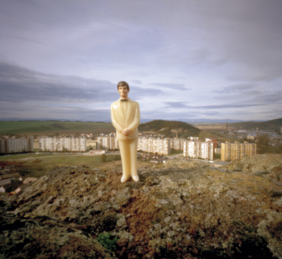The White Little Man - Pinhole Photographs