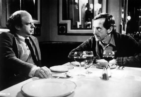 Moe's politisches Kino: My Dinner with Andre