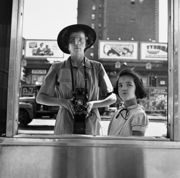 Vivian Maier Selbstporträt, New York 1953