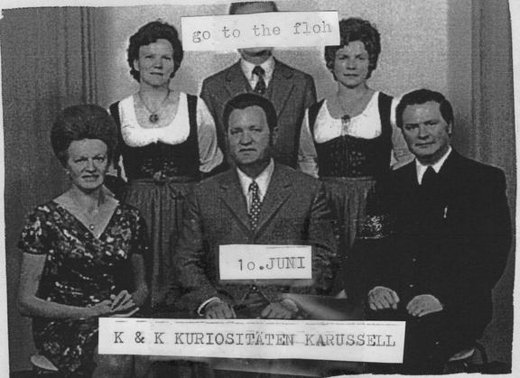k.& k. Kuriositäten Karussell Vintage Flohmarkt