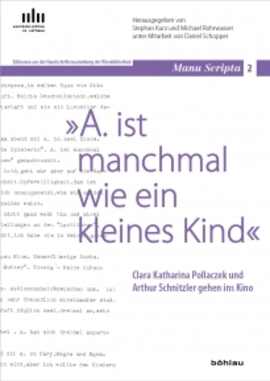 Buchpräsentation: Clara Katharina Pollaczek und Arthur Schnitzler gehen ins Kino