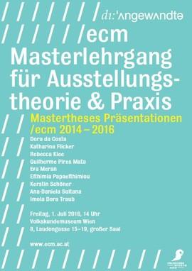 /ecm 2014-16 Mastertheses Präsentationen