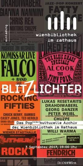 Blitzlichter. Das Populärkulturelle Archiv der Wienbibliothek