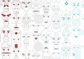 Yves Netzhammer: Gesichtsüberwachungsschnecken