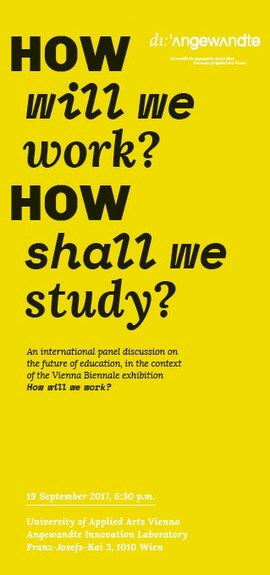 How will we work? How shall we study?