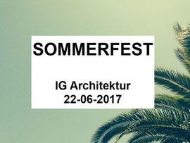 IG Architektur Sommerfest