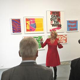 Kuratorinnenführung: Text-Bild-Relationen in der Kunst