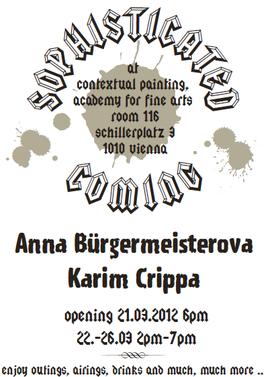Sophisticated Coming: Anna Bürgermeisterova, Karim Crippa