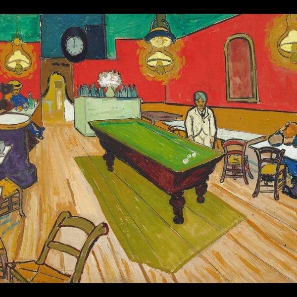 Vincent van Gogh: Le Café de nuit à Arles, 1888