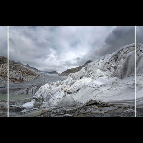 Thomas Wrede, Rhonegletscher-Panorama II, 2018, Courtesy Beck & Eggeling © Thomas Wrede/VG Bild-Kunst, Bonn