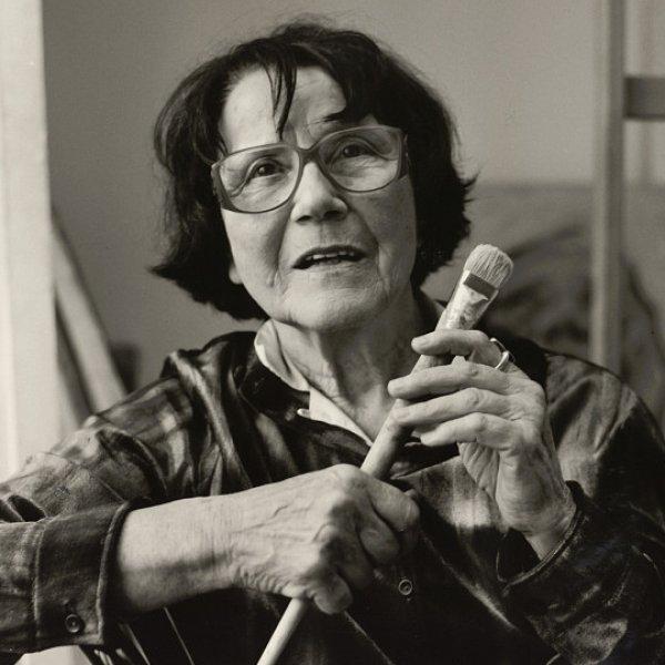 Franz Hubmann | Maria Lassnig (1919-2014), 1998 | ALBERTINA, Wien – Schenkung Sammlung Helmut Klewan © Franz Hubmann | Imagno | picturedesk.com