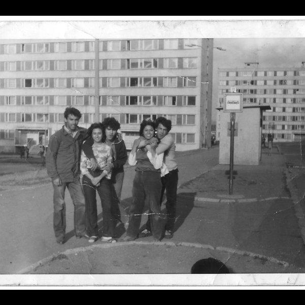 Aufnahme aus dem Archiv der Bewohner*innen von Chánov, 1970er-Jahre