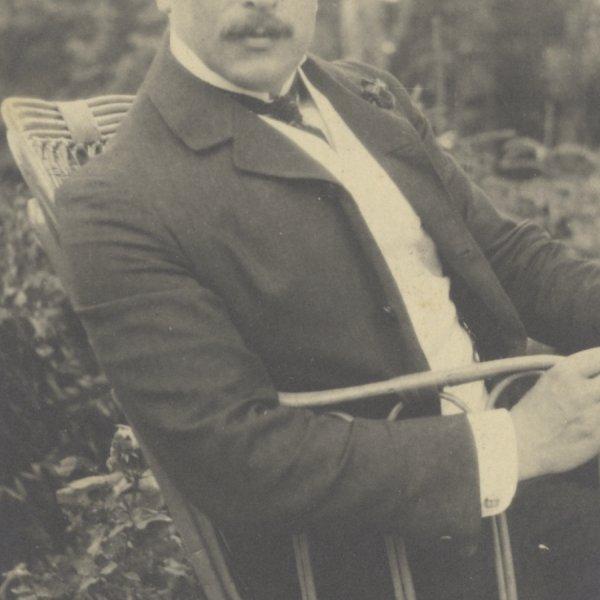 Felix Salten, um 1904, WBR, HS, Nachlass Salten.