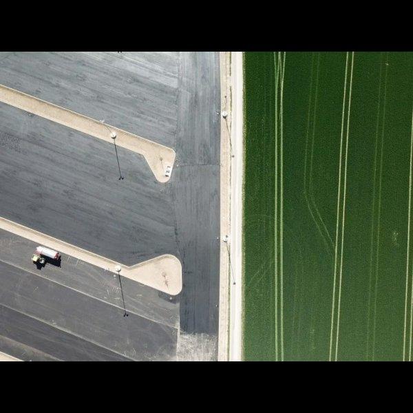 Verbaute Erde - Parkflächen statt Ackerland © ÖHV