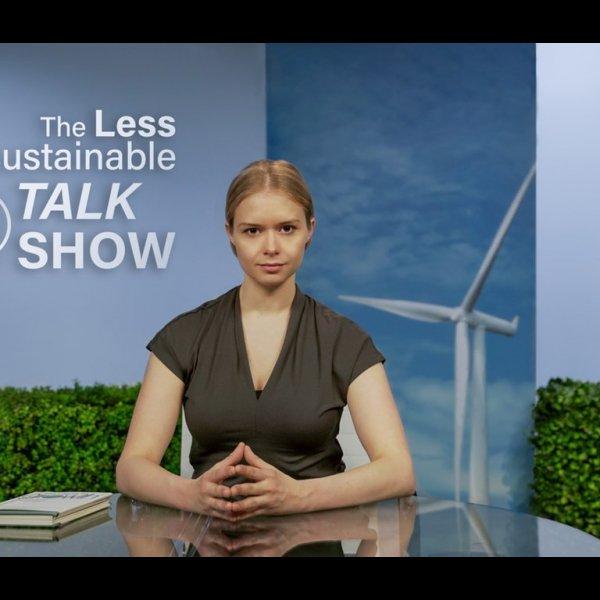 Mette Riise, The Less Unsustainable Talkshow, 2021 © Mette Riise, Foto: Daniel Jamernik