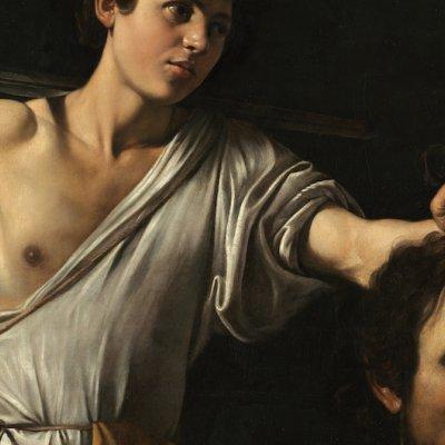 Michelangelo Merisi, gen. Caravaggio (1571 Mailand-1610 Porto Ercole) David mit dem Haupt des Goliath um 1600/01 © KHM-Museumsverband